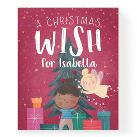 Personalised Christmas Wish Story Book