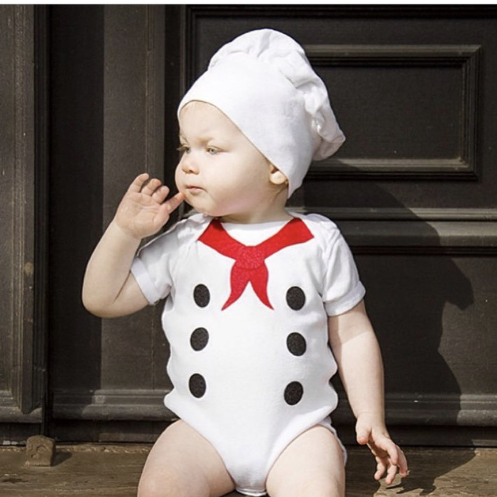 Baby French Chef Costume - Happy Milk