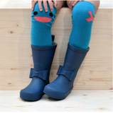 Wistiti Blue High Socks