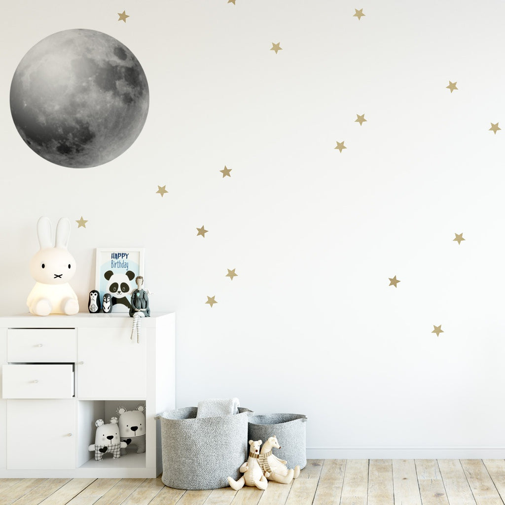 Full Moon Wall Stickers