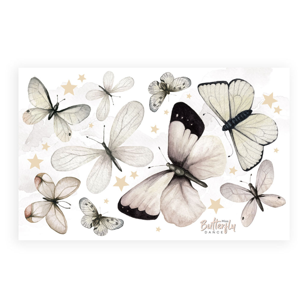 Butterfly Dance Wall Stickers