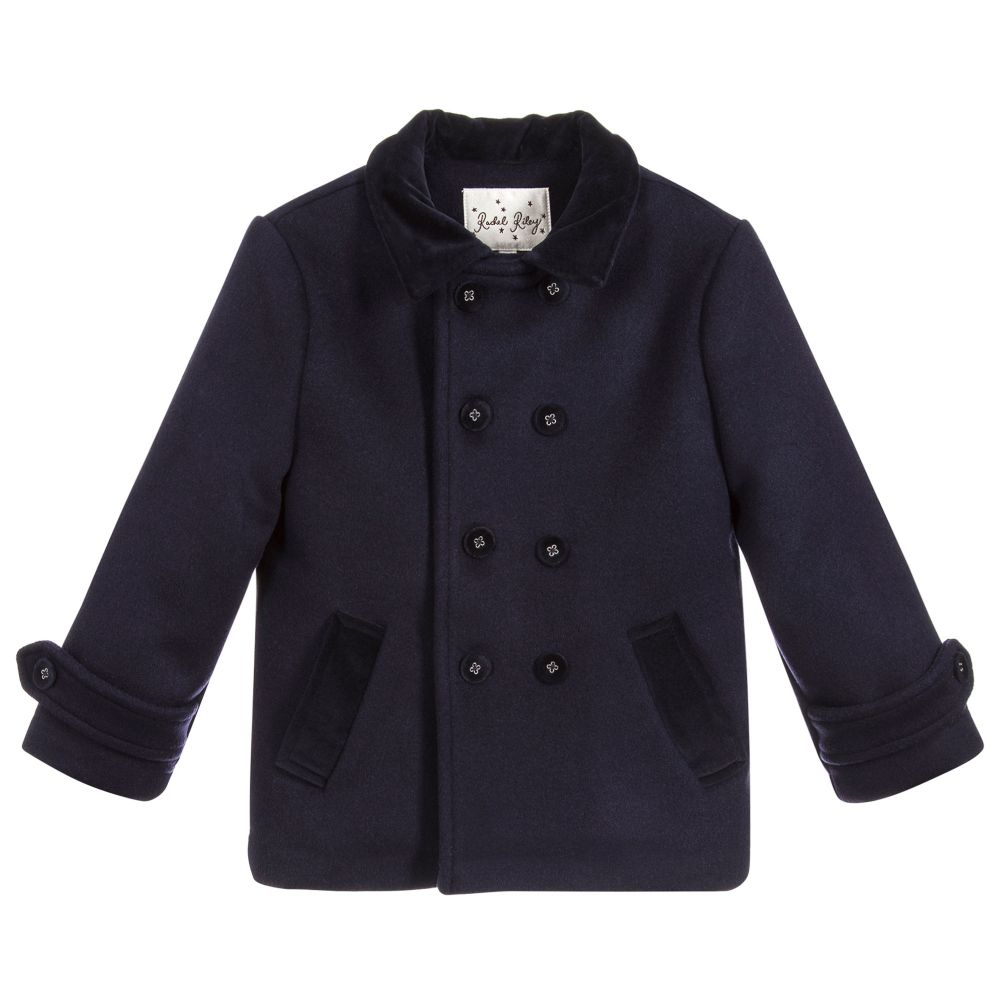 Navy Blue Jacket - Happy Milk