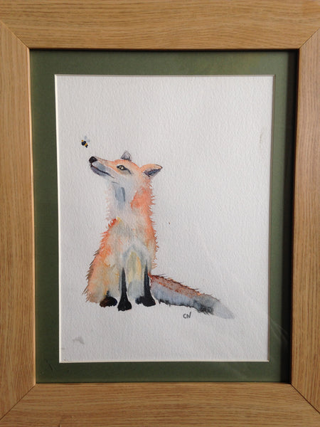 Fox and bee