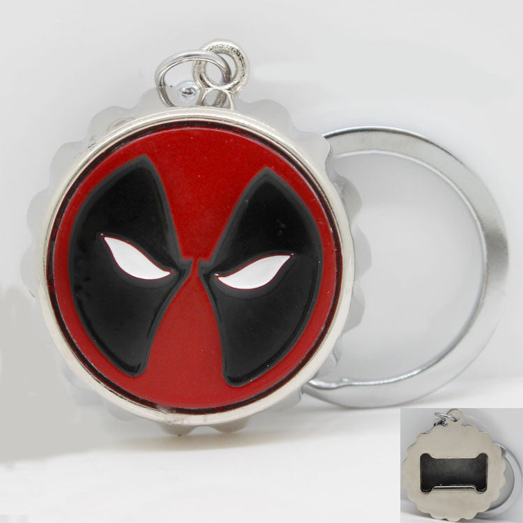 Deadpool Bottle Opener Keychain