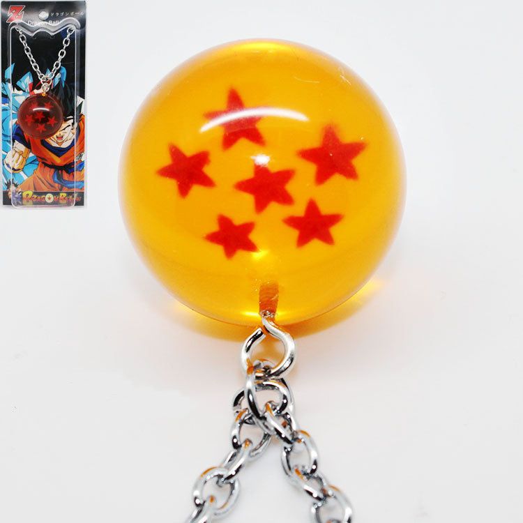 Dragon ball 6 Star Necklace