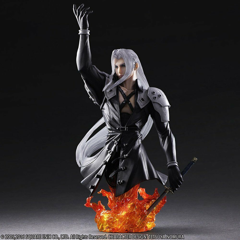 Final Fantasy VII Static Art Bust No. 03 Sephiroth