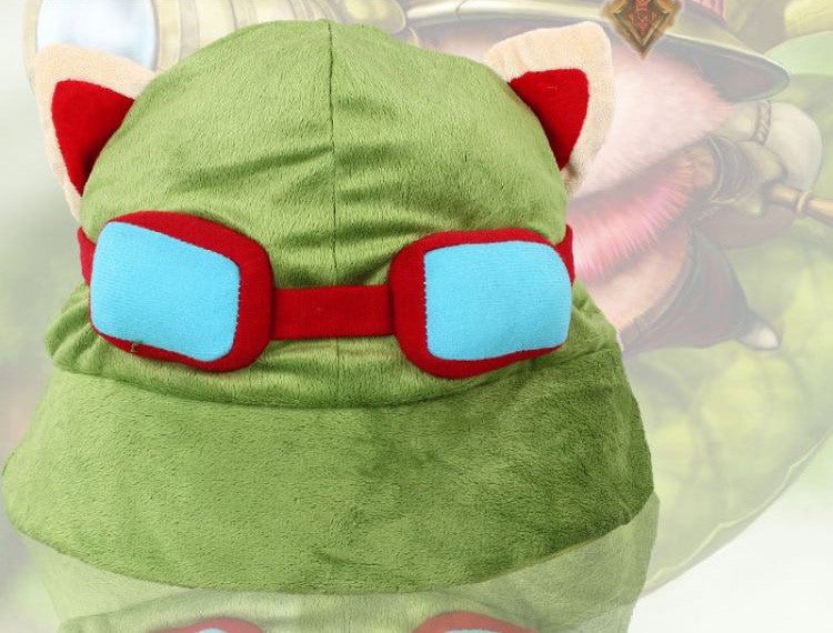 Teemo Plush Hat