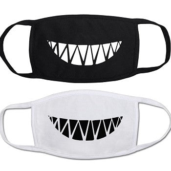 Toothy Grin Face Mask