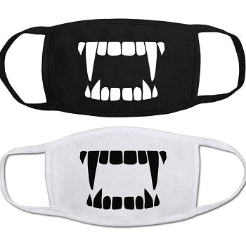 Vampire Fangs Face Mask