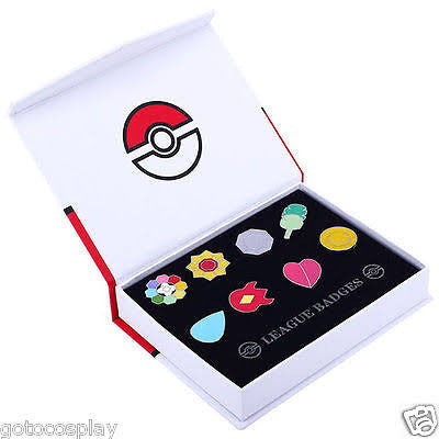 Kanto Pokemon Badges
