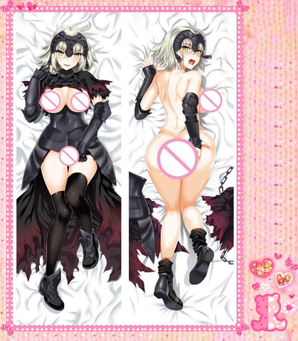 Fate Grand Order Jeanne d'Arc Alter Double Sided Hugging Pillow Case Cover