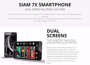 Official Dual Screen Phone & Dual Sim Phone