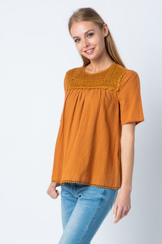 The Cassandra Top  (AVAILABLE: SM, MD, LG)