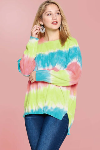 The Rainbow Sweater (xl-3x)