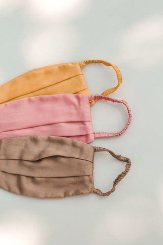 Satin Face Masks (Adult or Petite)