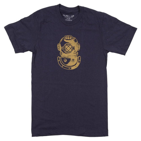 Diver's Helmet Tee - AVAILABLE: MEDIUM