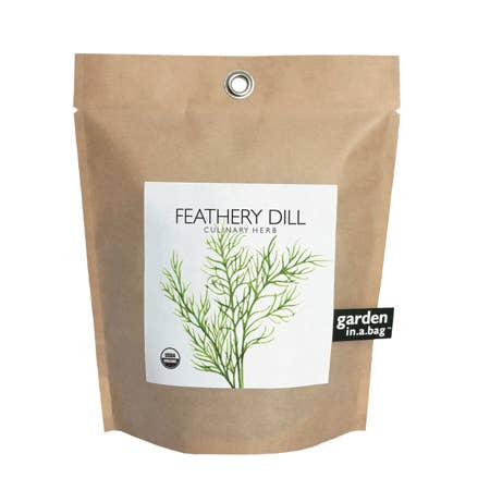 Garden in a Bag - Organic Feathery Dill