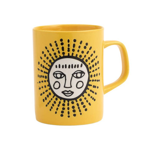 Cuppa Color Mug - Yellow Sun