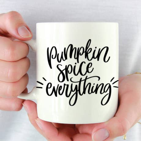 Pumpkin Spice Everything Coffee Mug - 15oz