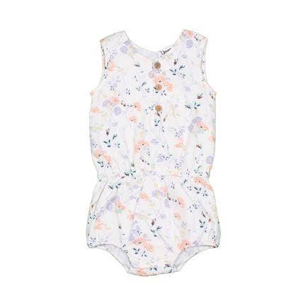 Wild Flower Baby Romper  - AVAILABLE: 3-6MO