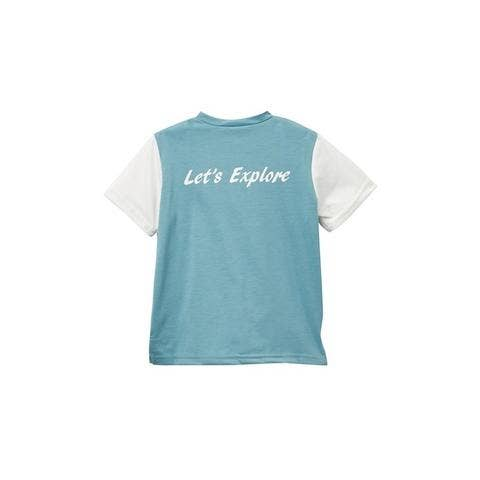 Let's Explore Boys Tee - Blue