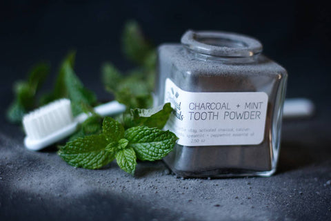 Charcoal + Mint Toothpowder (2.5 oz)