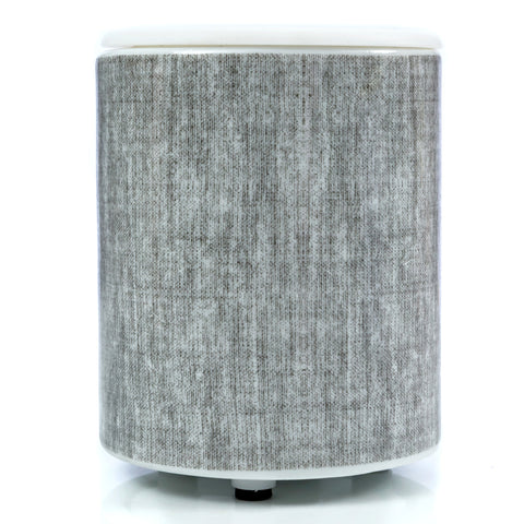 Happy Wax Mini Tabletop Wax Warmer - Gray Linen