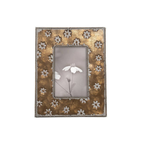 "Brass Alden Photo Frame 4""x6"""