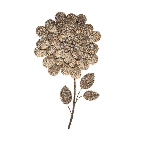 """Antique"" Wall Flower Art"