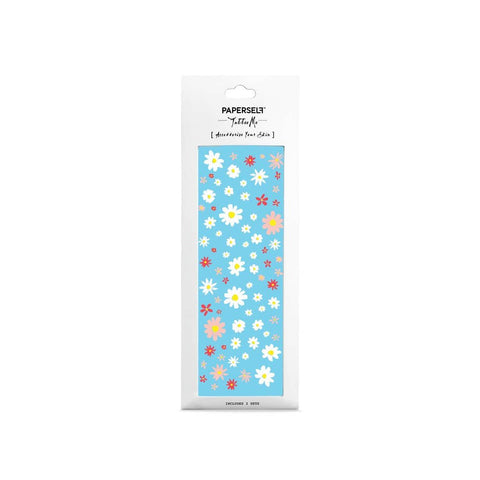 Hippie Daisy Temporary Tattoos