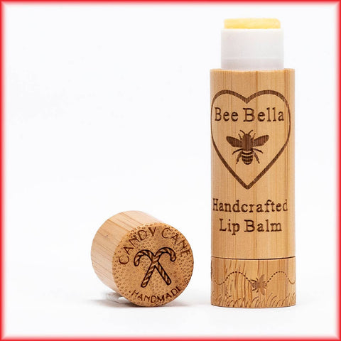 Bee Bella Natural Lip Balm - Candy Cane