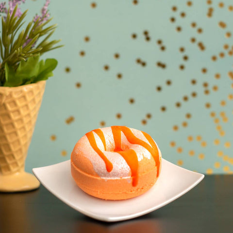 Orange Glazed Bath Doughnuts