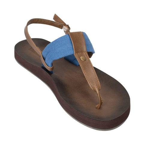 The Montauk Sandal - Blue