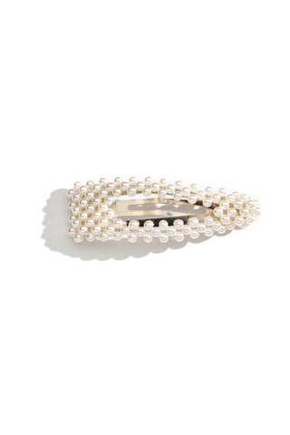Pearl Triangle Barrette