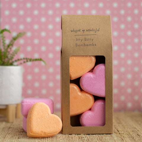 Sweetheart Bath Bomb - Love Spell & Grapefruit Lemongrass