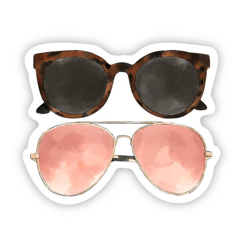 Two Sunglasses Sticker