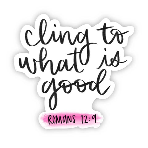 Romans 12:9 Sticker