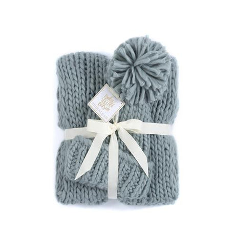 The Crandon Scarf and Hat Set