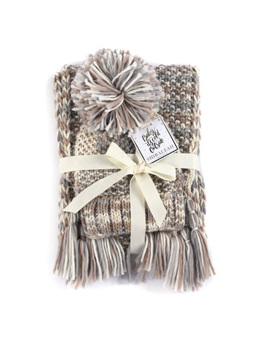 The Baraboo Hat and Scarf Gift Set