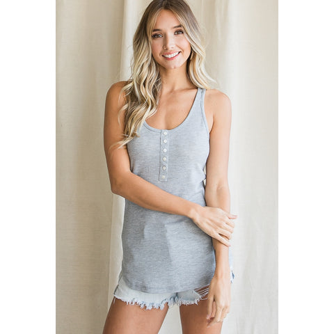 The Krystine Top (SM-XL) - Gray