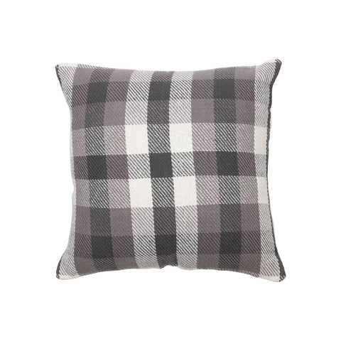 18X18 Hand Woven James Gray Pillow