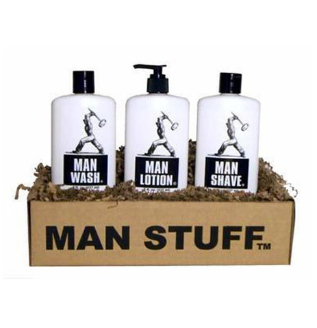 Man Stuff Gift Set - Man Shave