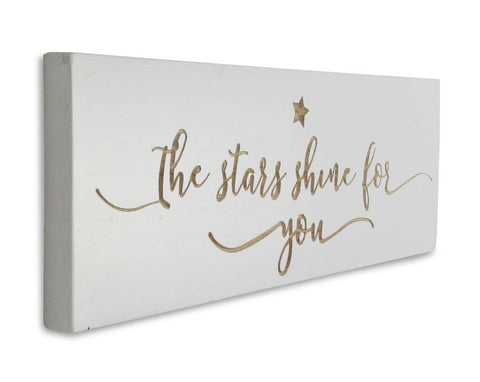 The Stars Shine For You Wall Decor
