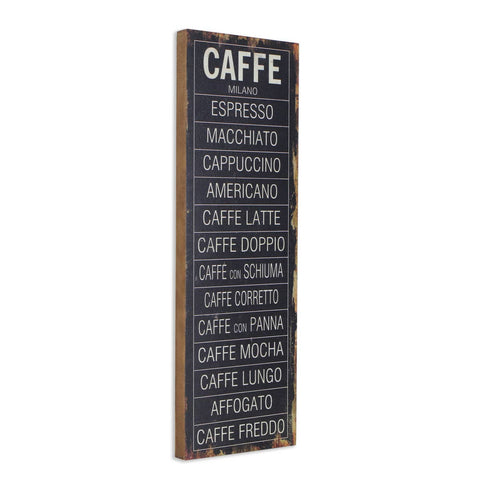 Caffe Milano Wall Decor
