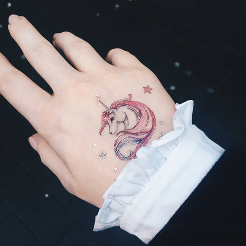 Unicorn Temporary Tattoos