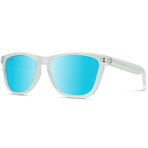 Lucas Polarized Sunglasses - Clear/Blue