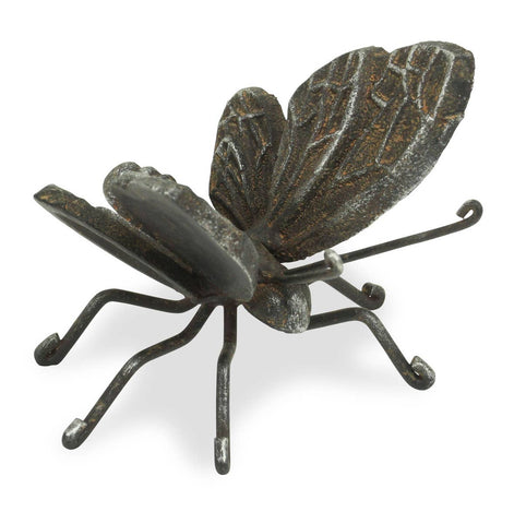 Cast Iron Butterfly Decor
