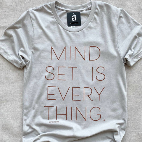 Mindset is Everything Tee (XS-2X)