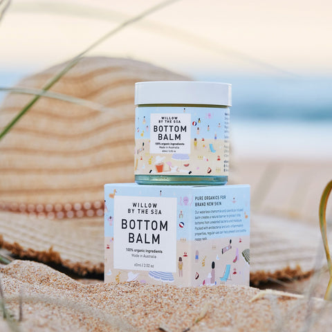 Organic Bottom Balm by Willow By The Sea