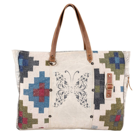 Bhrayna Bags Butterfly Weekender Bag